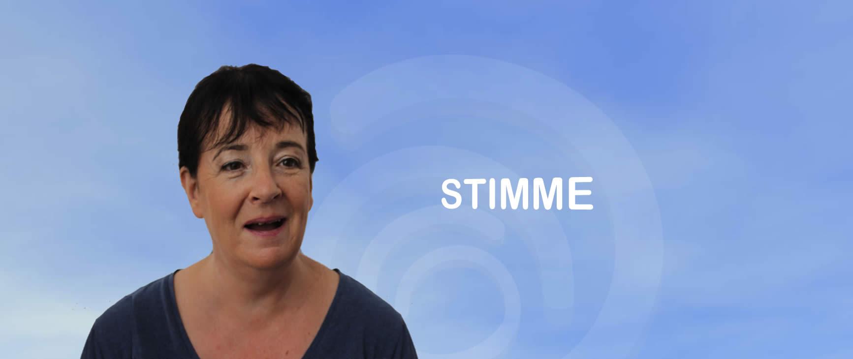 Atempädagogik mit Monika Opriessnig-Kumar - Stimme